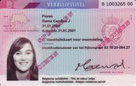 Carte d'identité électronique pour étrangers